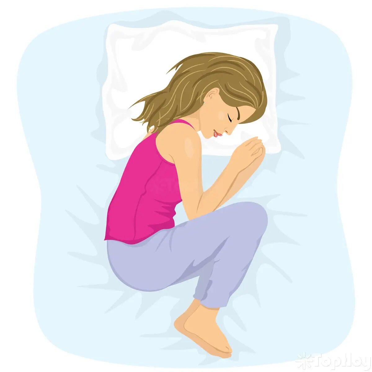 Odia madrugar, y si fuese por ella, se levantaría a las 11 de la mañana todos los días. Por lo general se duerme a las 3 de la madrugada y le gusta hacerlo bien acurrucada en posición fetal.