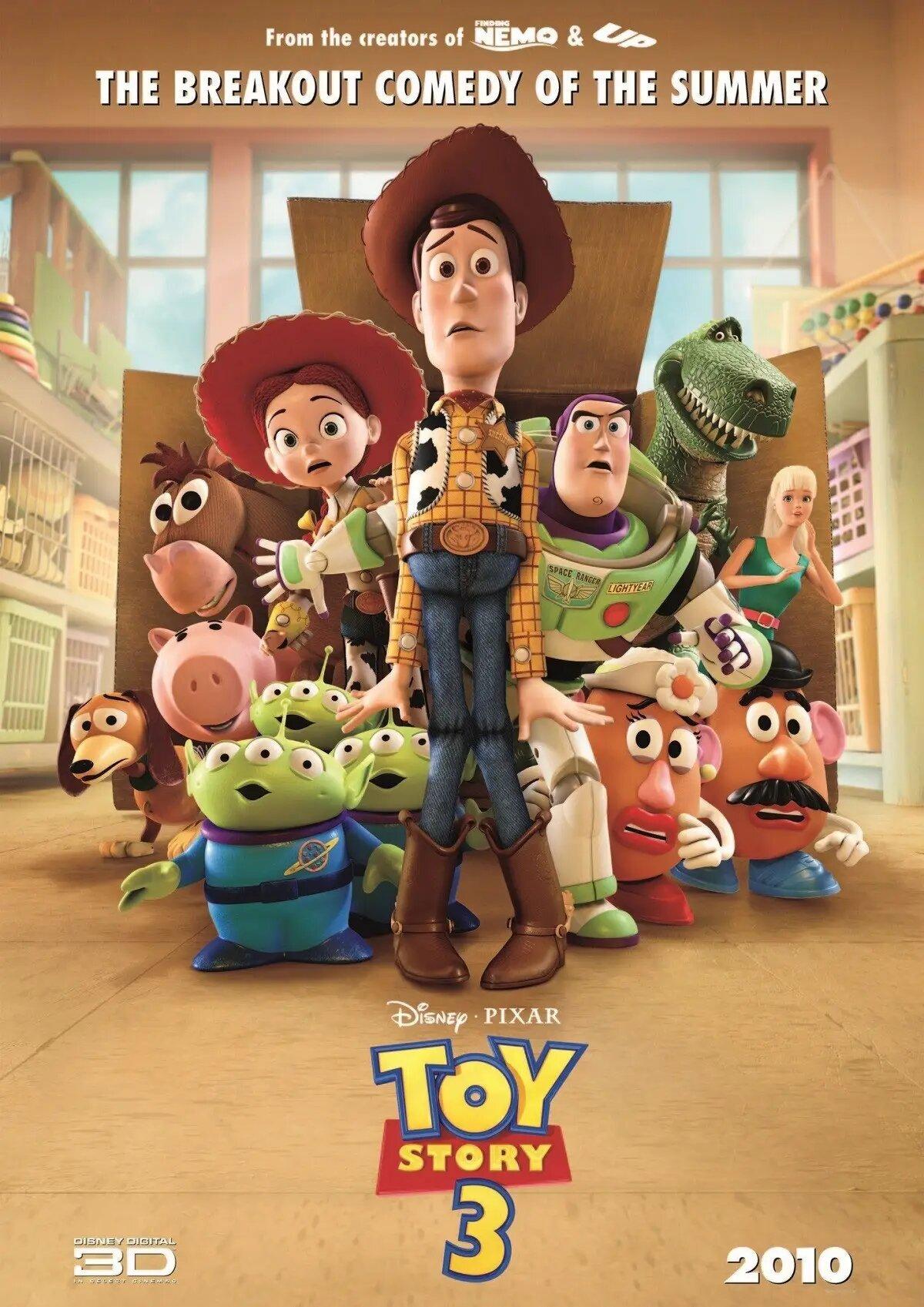 En Toy Story 3, los creativos tuvieron que dibujar la mayor cantidad de bocetos entre las tres películas. Solo en la tercera entrega elaboraron 92.854 artes.
