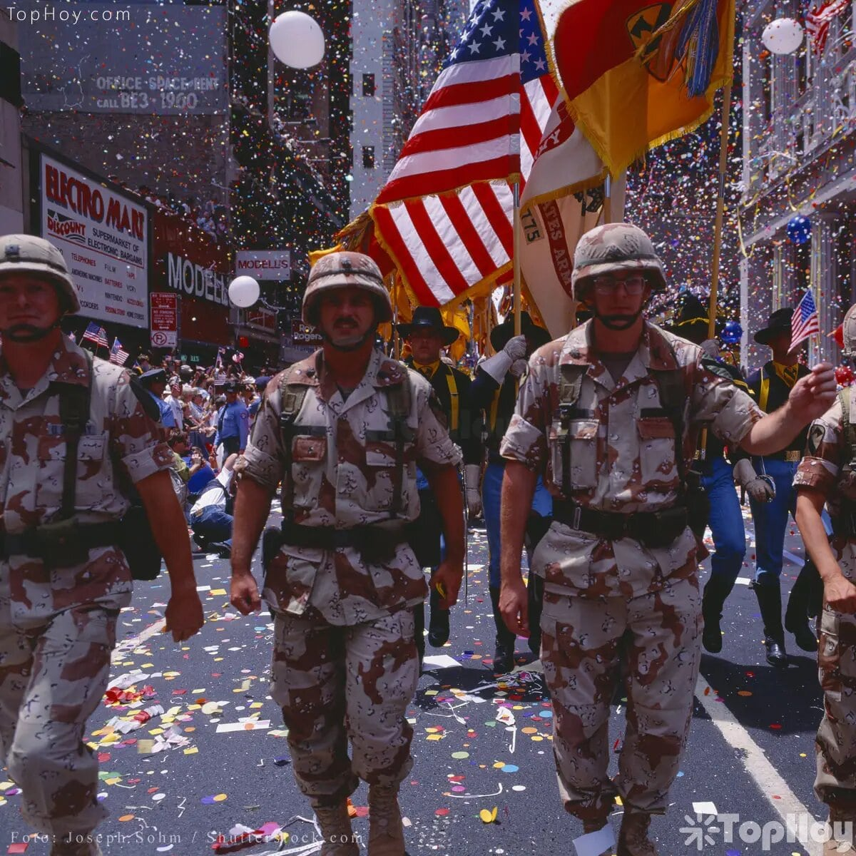 Quiso inscribirse en el Ejército de los EE.UU. cuando la Guerra del Golfo estalló.