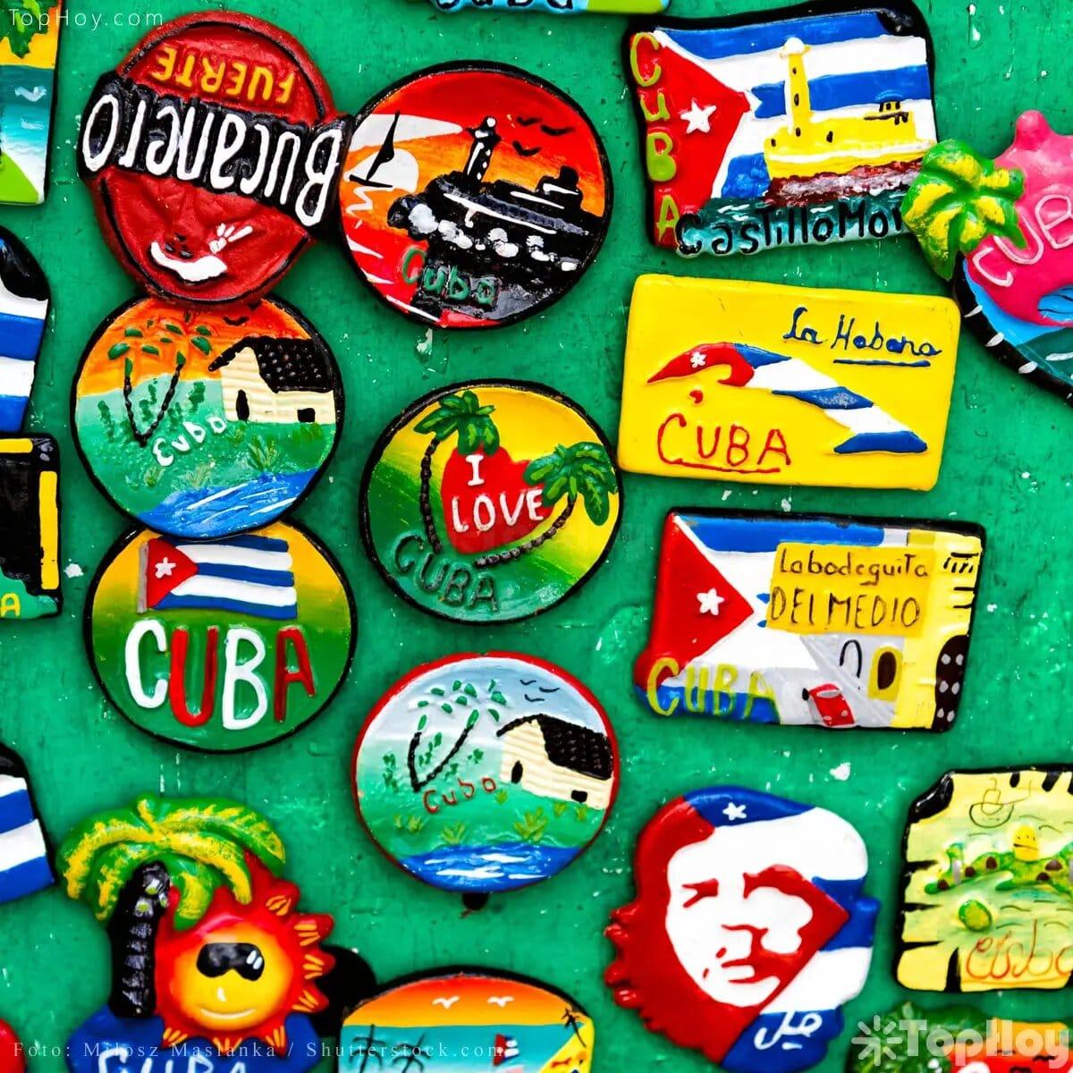 Artículos que representan a Cuba