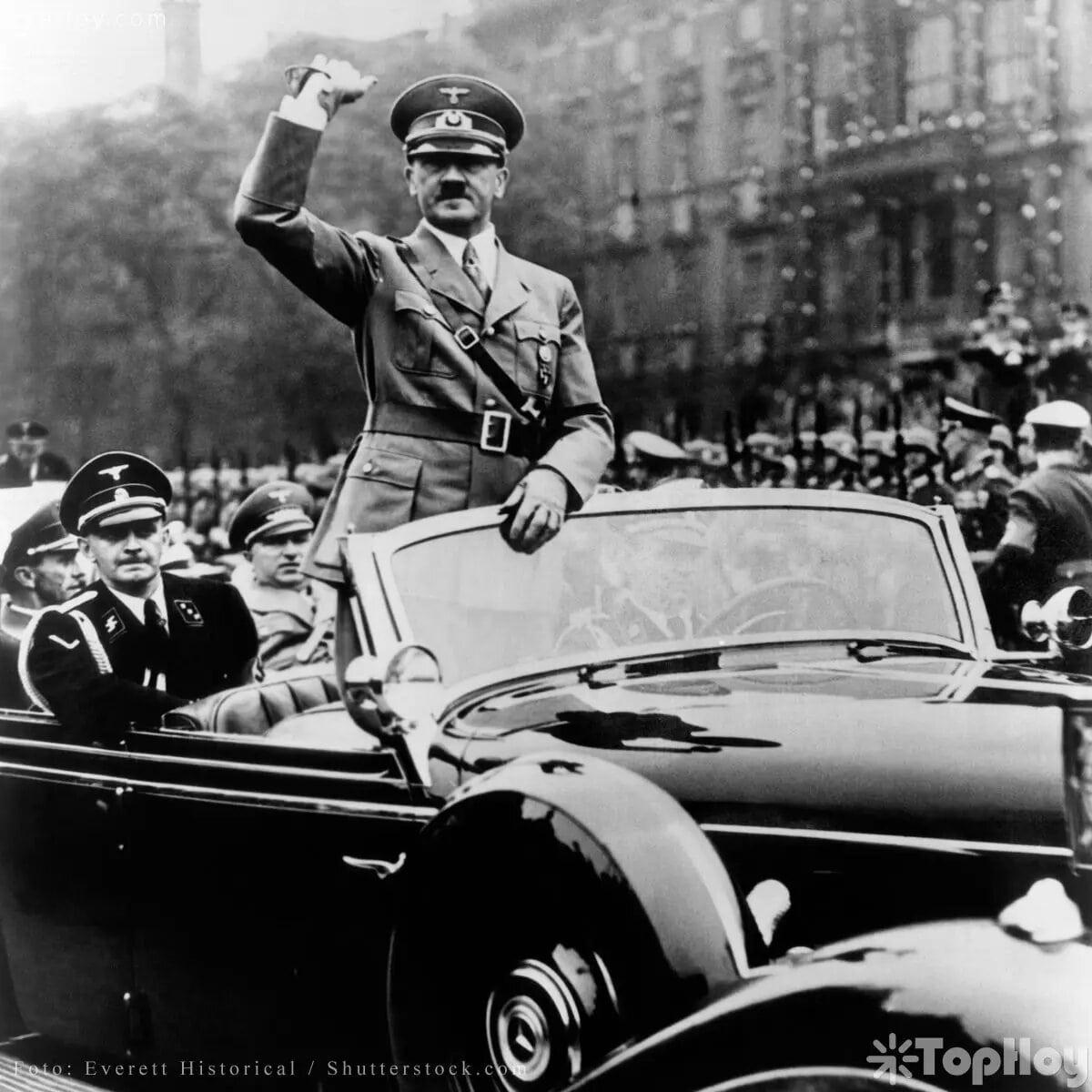 Fue canciller y presidente de Alemania entre 1933 y 1945.